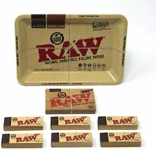RAW Mini Tray Classic Bundle - RAW 300's Classic Rolling Paper and 300 RAW Tips