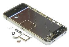Original iPhone 4 Mittelrahmen Middle Rahmen Bezel Frame Sim Karte Halter Tasten