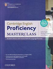 CAMBRIDGE ENGLISH PROFICIENCY (CPE) MASTERCLASS Student's Book NEW for 2013 Exam