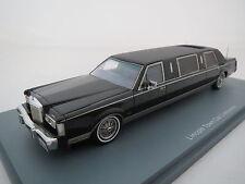 RAR: Neo Scale Models - Lincoln Town Car  schwarz, 1:43, TOP ! OVP !