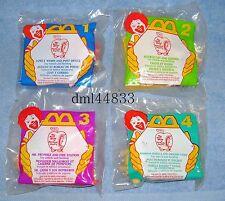 1995 McDonalds Richard Scarry MIP Complete Set & U3, Boys & Girls, 3+