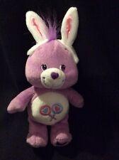 "Care Bear Share Easter Bunny Soft Toy Plush Rabbit Ears Stuffed Animal 9"""