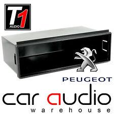 Peugeot 307 2002> Double Din to Single DIN Car Stereo Pocket Facia Tray Adaptor