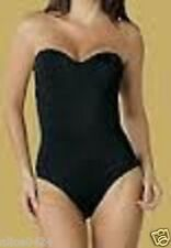 DR. REY 36B Black Sexy SHAPEWEAR  Strapless Bodysuit SHAPE21  NEW 4 Way  $55.00