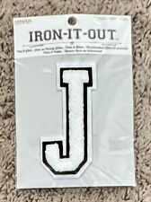 New listing Iron-It-Out Iron On Letter J 4� X 1.75�. Letter Jacket Style