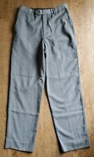 Lord & Taylor Gray Flat Front Dress Pants Boys Youth Size 14 Regular