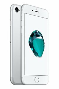NEW(OTHER) SILVER FACTORY UNLOCKED 128GB APPLE IPHONE 7 SMART PHONE JQ01 B