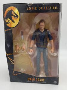 Owen Grady Amber Collection Action Figure Jurassic World Damaged Packaging