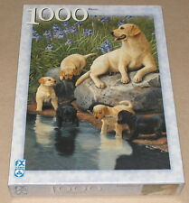 "FX ""Motherhood"" Labrador Retriever Dogs / Mom & Puppies 1000 Pc Puzzle NIB"