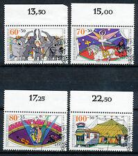 Bundespost 1411 - 1414 gestempeld (2)