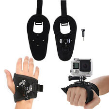 360 Rotate Hand Wrist Glove Strap Belt Camera Holder Mount For Gopro Hero 2 3 4