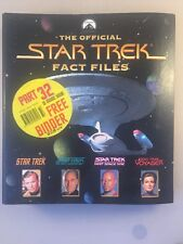 Collectable The Official Star Trek Fact Files No3 - star trek fact file 3
