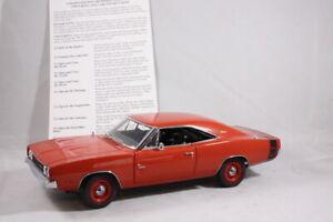 Danbury Mint Limited Edition 1969 Dodge Charger 500 - Model Car Diecast