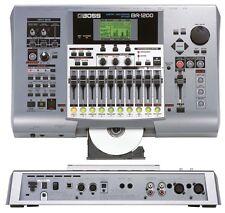 BOSS BR-1200 CD 800 1180 1600 DIGITAL RECORDING STUDIO & WARRANTY BR1600CD