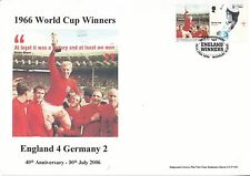 GB 2006 - World Cup Winners Personalised Smilers FDC - Rare