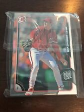 2015 Bowman Chrome Draft Paper Rookie Lot Washington National Matt Crownover 23x