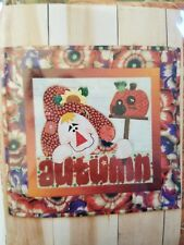 """It's Autumn Quilting Kit from Country Faces 18.5"""" x 19"""""""