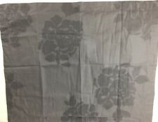 Vera Wang Floral Jacquard 2 Two Standard Pillow Deep Purple Shams $300.00
