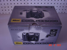 Nikon Cool Pix 5000 5.0Mp Digital Camera - accessories and manuals - Free Ship !