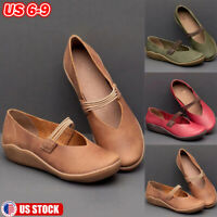 WOMENS SOFT LEATHER MOCCASINS BOOTS LOAFERS SLIP-ON COMFY FLATS SHOES PUMPS SIZE