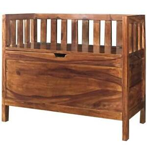 Wooden Storage Seat Large Size made from high quality Shessham Wood