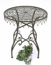 table Table de jardin malega 12184 bistrotisch 68 cm Table d'appoint métal fer
