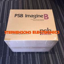 BrandNewSealedPair of PSB Speakers Imagine B Speakers (Black or Dark Cherry)