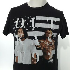 2014 OUTKAST T92 20 Year Anniversary Black Short Sleeve Graphic T-Shirt Medium