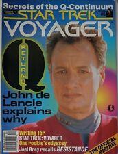 Starlog Star Trek - Voyager. #6 April 1996 Excellent