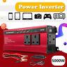 3000 5000W Solar Power Inverter DC12/24V to AC110V/220V Car Sine Converter 4