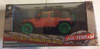 Greenlight 1:43 2015 Jeep Wrangler Unlimited Willy's Wheeler GREEN MACHINE