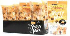 10 Bags Purina Friskies 2.1 Oz Party Mix Cheezy Craze Crunch Cat Treats BB 12/19