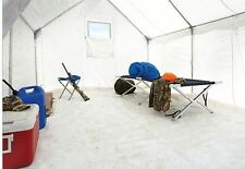 Water Resistant Heavy Duty PVC Wall Tent Floor, 10' x 12' Outdoor Camping Hiking