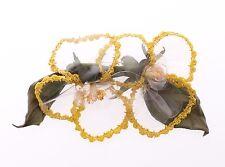 NUOVA CON ETICHETTA DOLCE&GABBANA multicolore floreale trasparenti rafia