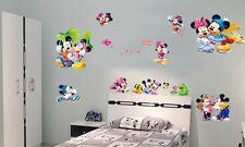 Bedroom Mickey Mouse Art Mural Wall Sticker Loving Baby Nursery Room Decor DIY