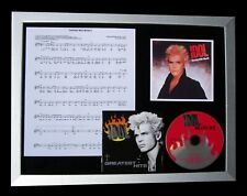 BILLY IDOL Dancing With Myself TOP QUALITY CD FRAMED DISPLAY+EXPRESS GLOBAL SHIP