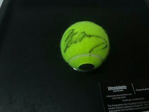 ANDY MURRAY AUTOGRAPHED SIGNED BLACK INK NEW PENN TENNIS BALL WITH COA
