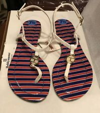 NWT  Tommy Hilfiger Thong sandal size 7.5 white