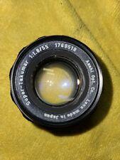 Asahi Super Takumar 1:1.8 55 mm Camera Lens