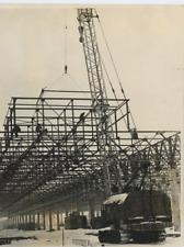 Russie, Construction de l'usine automobile de la Volga Silver Print. Фото П