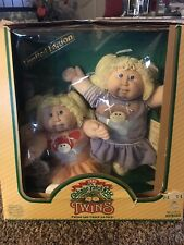 Coleco 1985 Vintage Cabbage Patch Twin Dolls