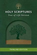 TLV Thinline Bible, Holy Scriptures, Grove/Sand, Tree Design Duravella (2016,...