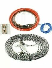 Scosche ADD-ON AMP WIRING KIT for SECOND AMPLIFIER TWISTED AUDIO CABLE HQ Copper