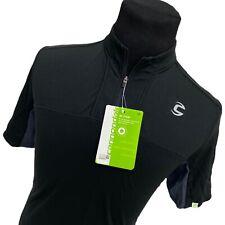 NWT Mens Medium Cannondale Black Gray Re-Spun Quick Jersey Cycling Shirt M