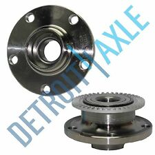 Both (2) Rear Complete Wheel Hub & Bearing Assembly for 2002-09 Audi A4 ABS