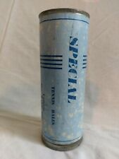 New listing vintage tennis ball metal can metal lid, Special, made in England, empty