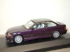 BMW 3 Serie E36 M3 Coupe Daytonaviolett met - Minichamps 1:43 in Box *34264