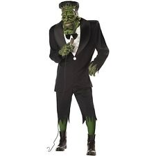 ADULT BIG FRANK HALLOWEEN FANCY DRESS COSTUME SCARY FRANKENSTEIN MONSTER