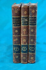 Essay on Old Maids William Hayley 3 volumes 2nd edition 1786 London