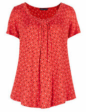 Marks and Spencer Plus Size Spotted Tops & Shirts for Women